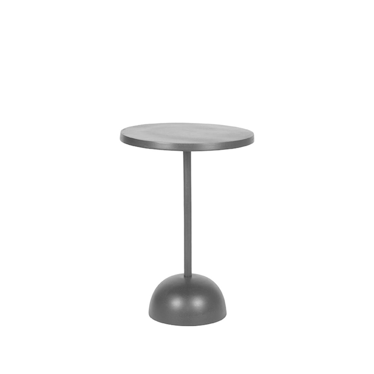 Bijzettafel Spark 40x40x57 cm - Zwart - Metaal