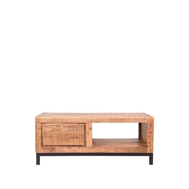 Salontafel Ghent - Rough - Mangohout - 110x60 cm