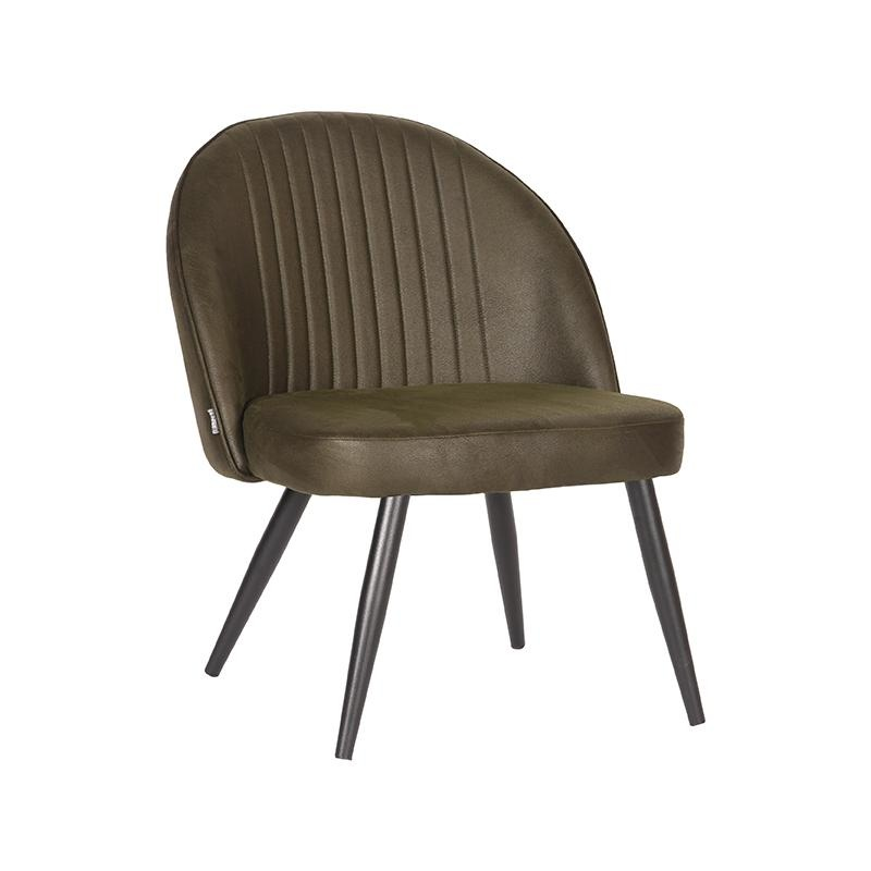 Fauteuil Enzo - Army green - Microfiber