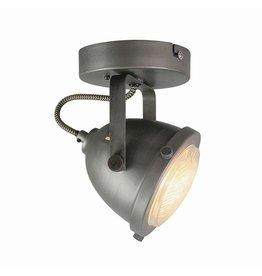 Spot Moto led - Burned Steel - Metaal - 1 Lichts