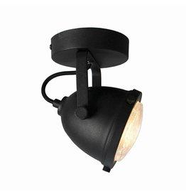 Spot Moto led - Zwart - Metaal - 1 Lichts
