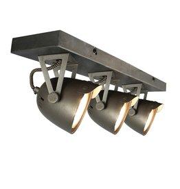 Spot Cap led - Grijs - Metaal - 3 Lichts