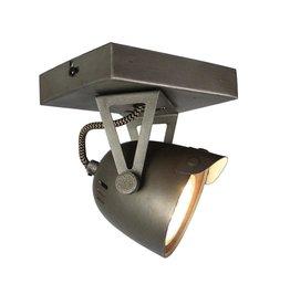 Spot Cap led - Grijs - Metaal - 1 Lichts