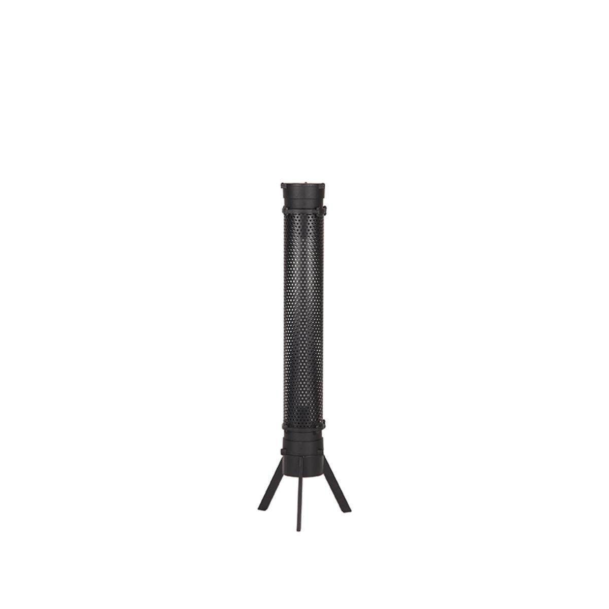 Tafellamp Tube - Zwart - Metaal