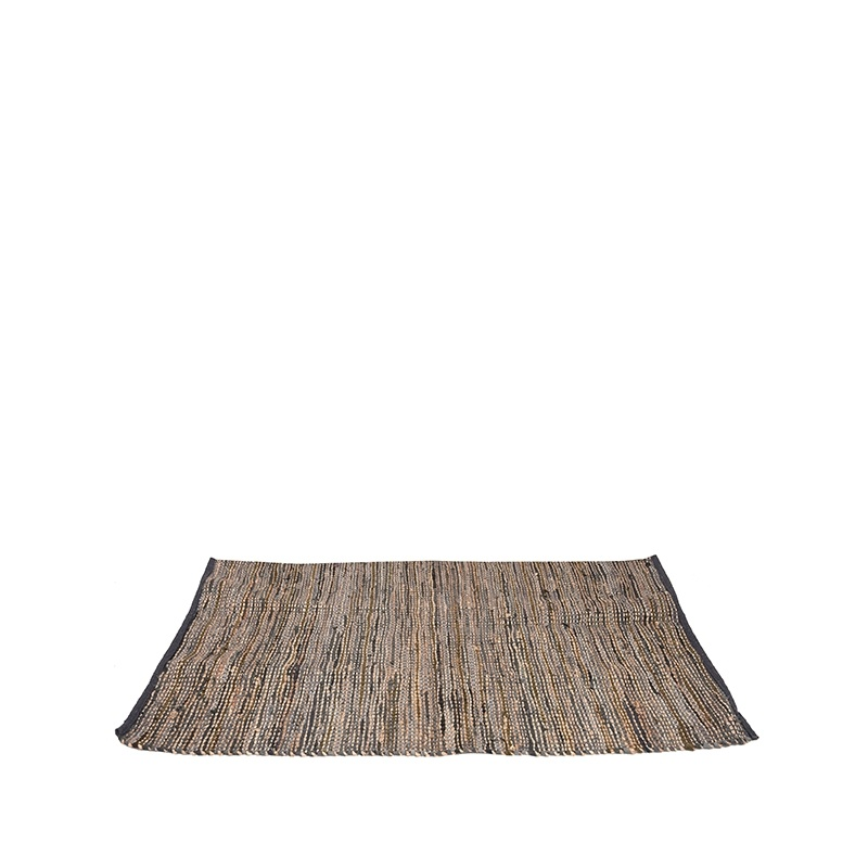Vloerkleed Brisk - Antraciet - Natuurlijk materiaal - 230x160 cm