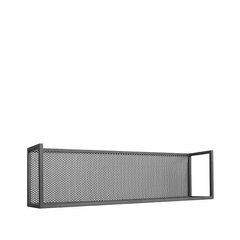 Wanddecoratie Motif Wandrek - Zwart - Metaal - XL