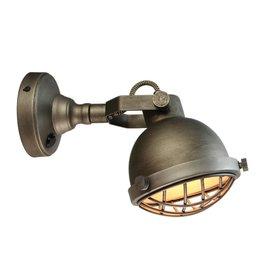 Wandlamp Cas - Grijs - Metaal - L