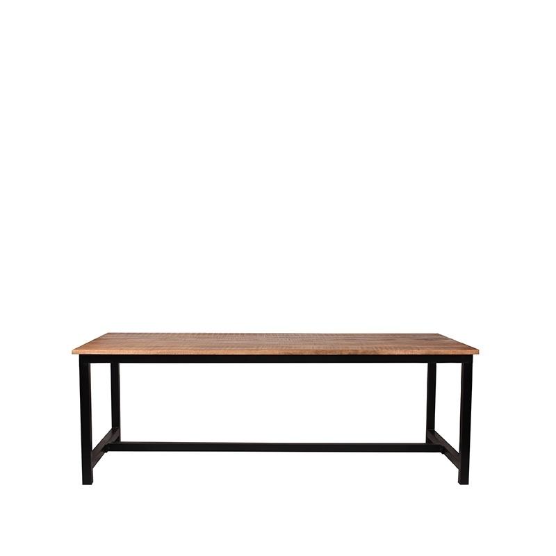 Eetkamertafel Ghent - Rough - Mangohout - 160x90 cm