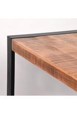 Eetkamertafel Brussels - Rough - Mangohout - 160x90 cm