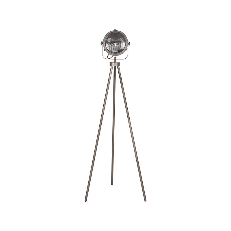 Vloerlamp Tuk-Tuk - Burned Steel - Metaal
