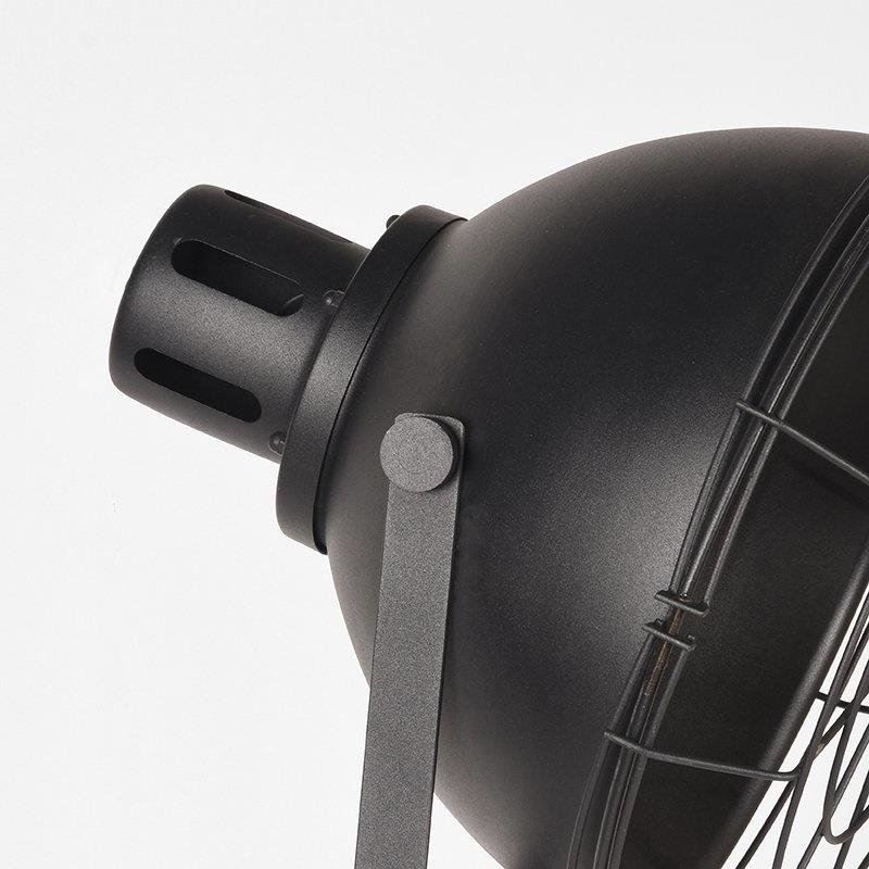 Vloerlamp Max - Zwart - Metaal