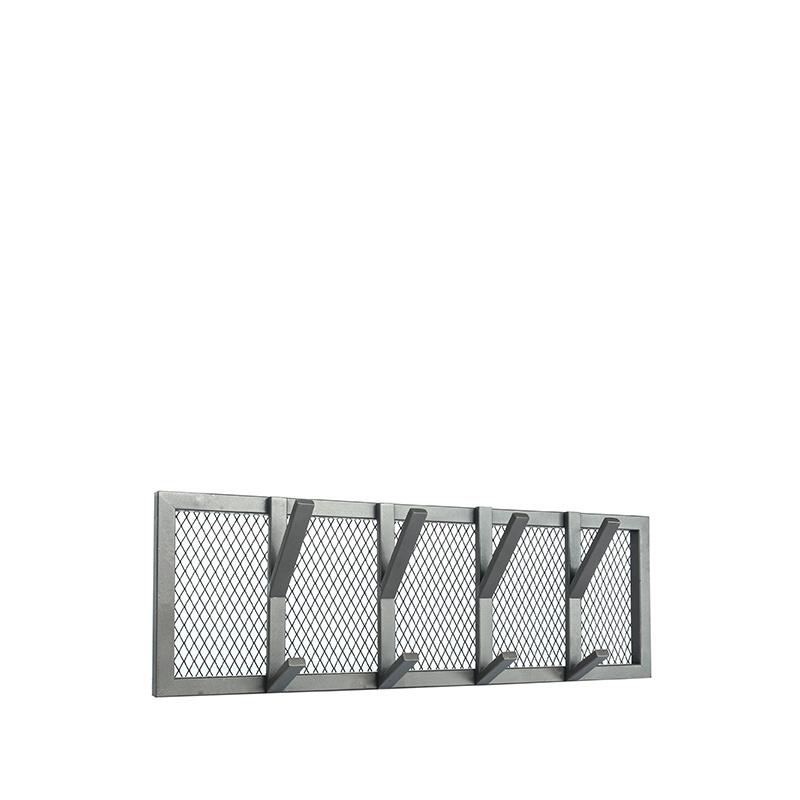 Kapstok Gruff - Burned Steel - Metaal - M