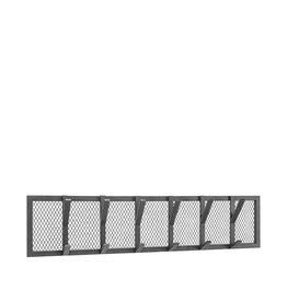 Kapstok Gruff - Zwart - Metaal - XL