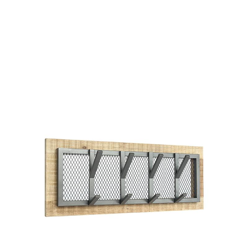 Kapstok Crude - Burned Steel - Mangohout - M