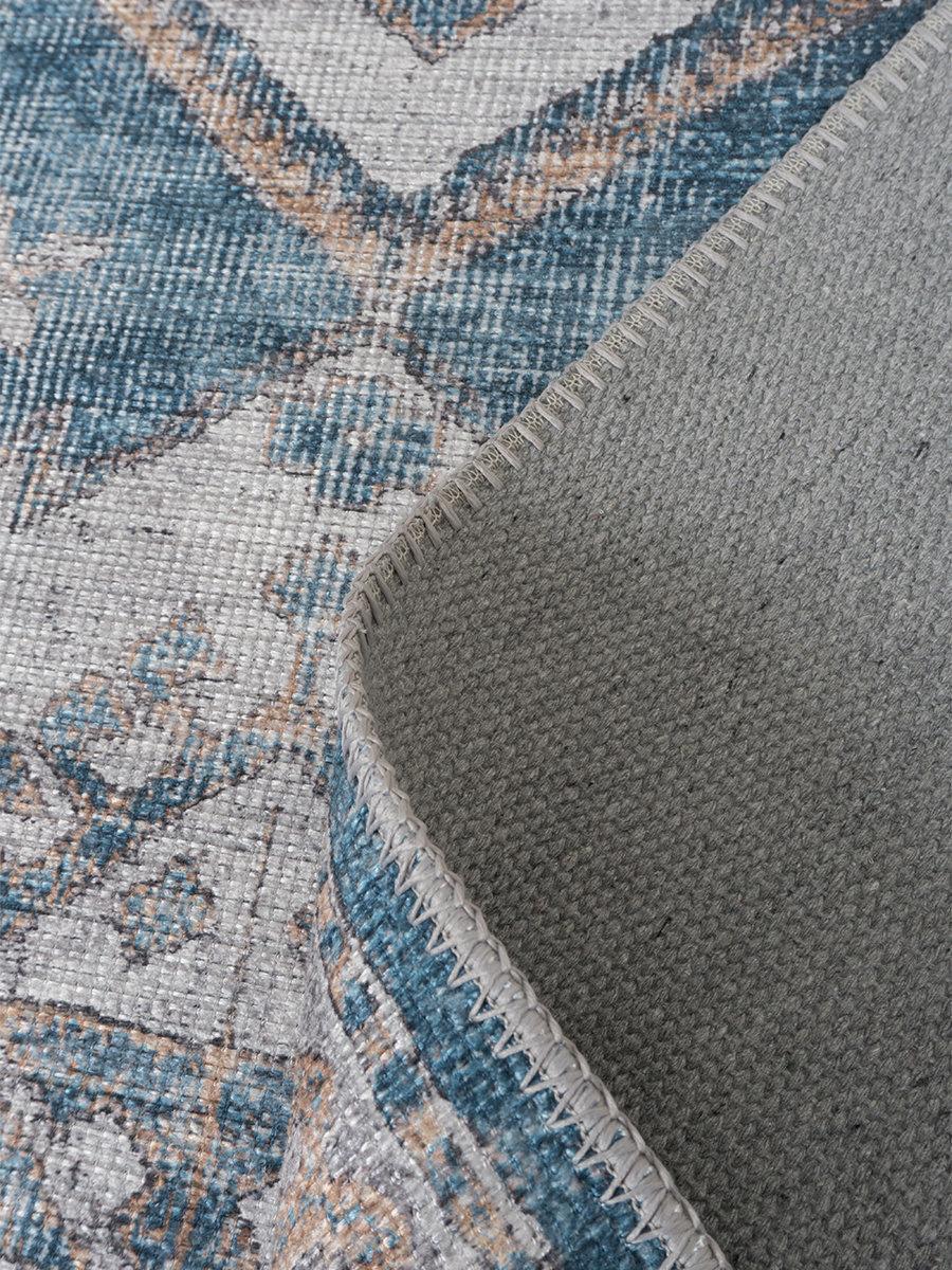 Vloerkleed Laria Blue - Rond Ø 160 cm