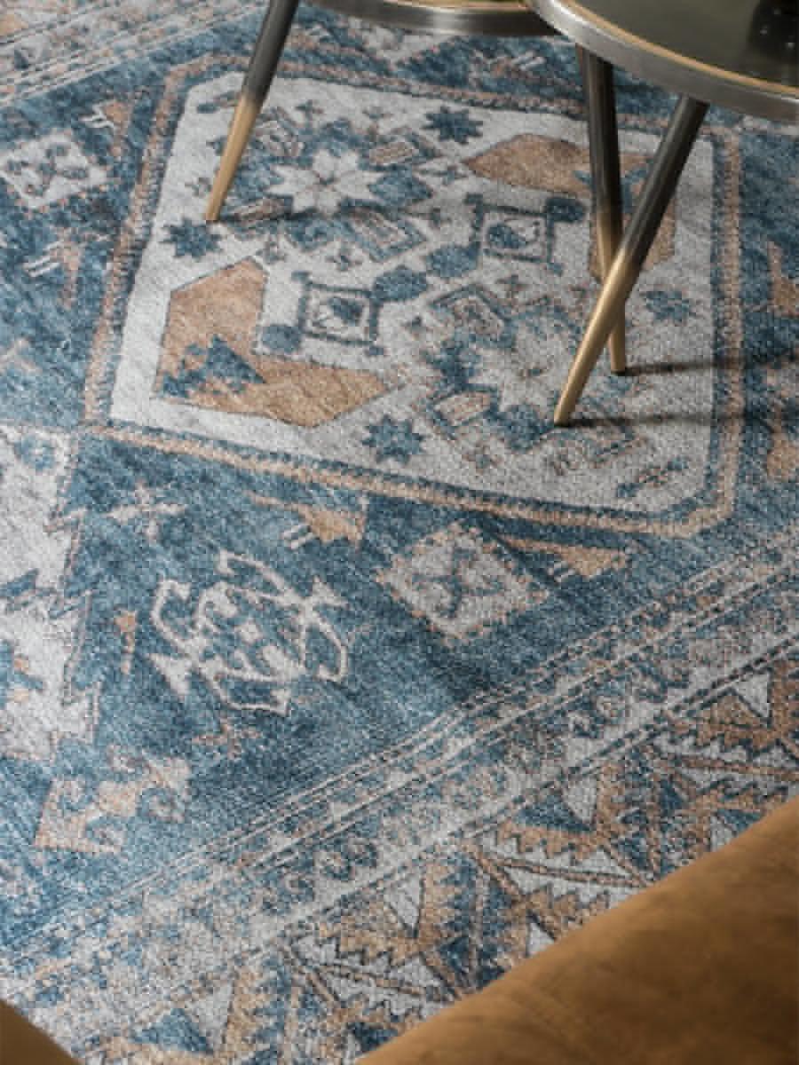 Vloerkleed Laria Blue - 160 x 230 cm