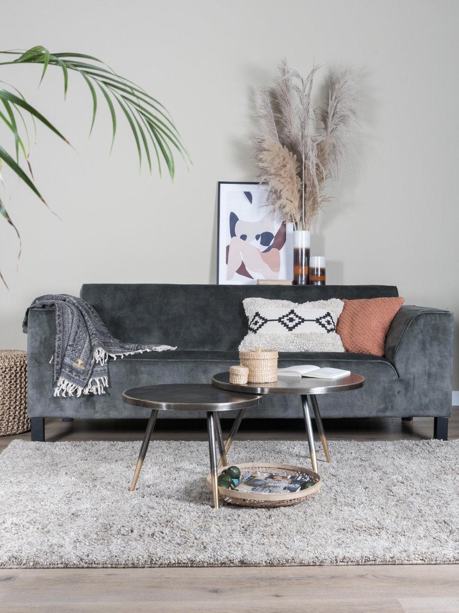 Vloerkleed Zumba Beige - 200 x 280 cm