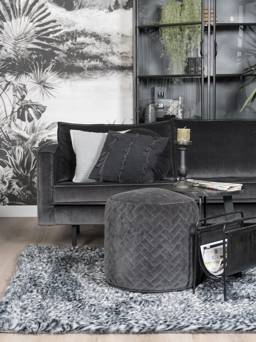 Vloerkleed Safari Grey - 160 x 230 cm