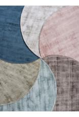 Karpet Viscose Rond Light Grey - Ø 150 cm