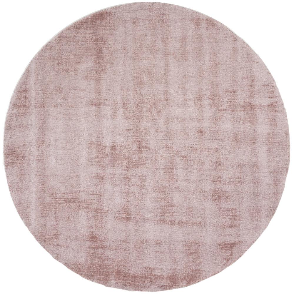 Karpet Viscose Rond Pink - Ø 150 cm