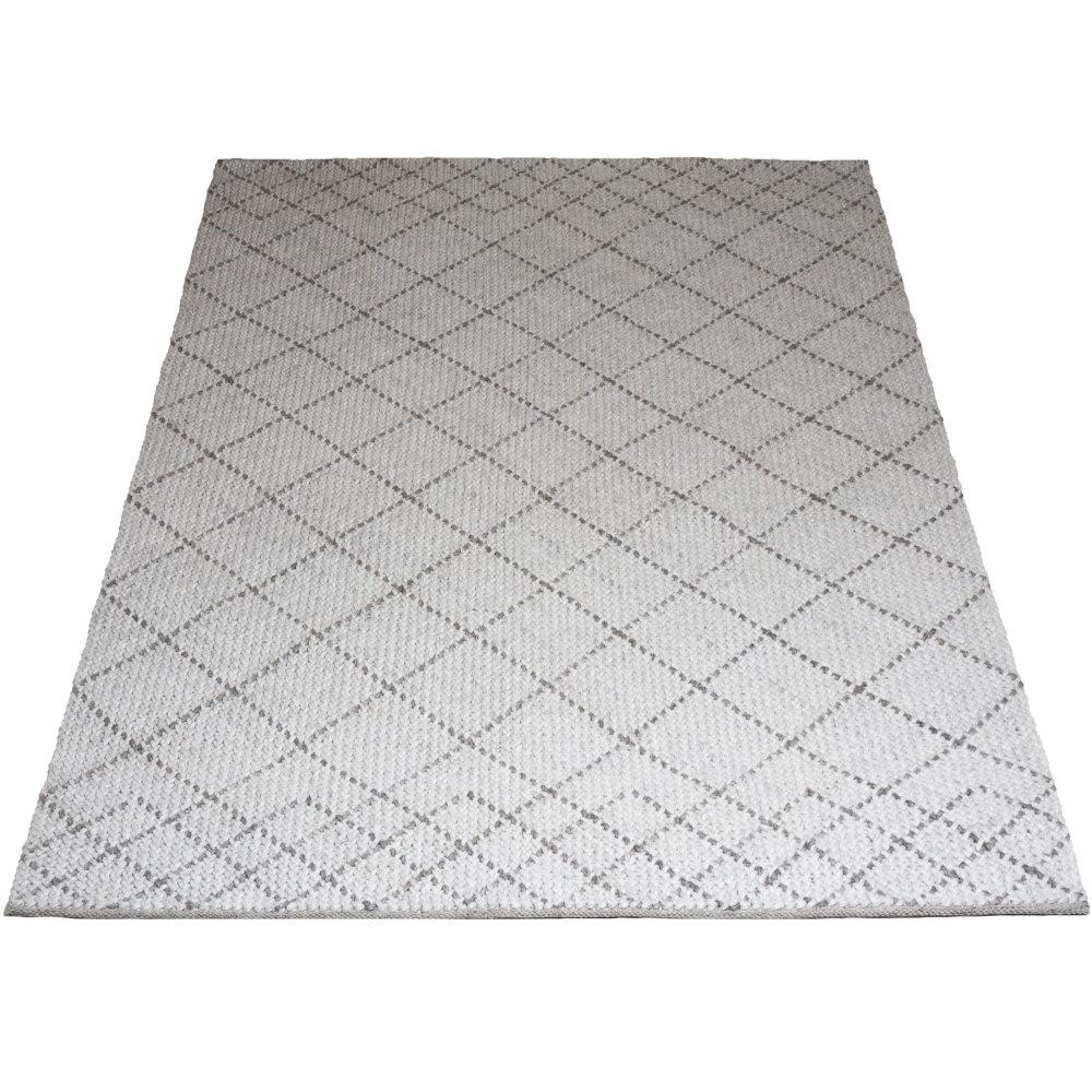 Vloerkleed Tess White - 200 x 280 cm