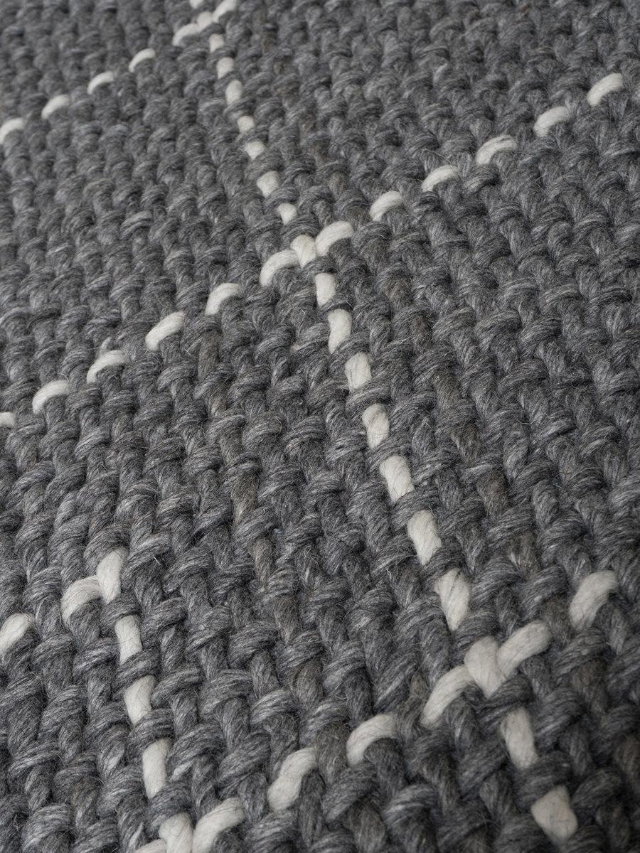 Vloerkleed Tess Charcoal - 160 x 230 cm