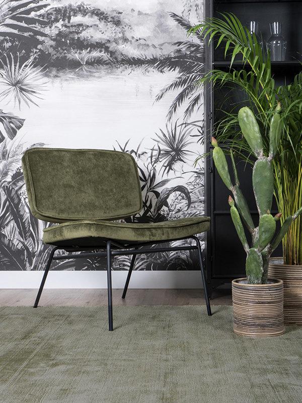Karpet Viscose Green - 200 x 280 cm
