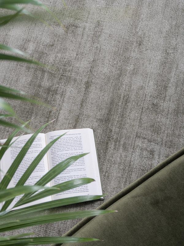 Karpet Viscose Green - 160 x 230 cm