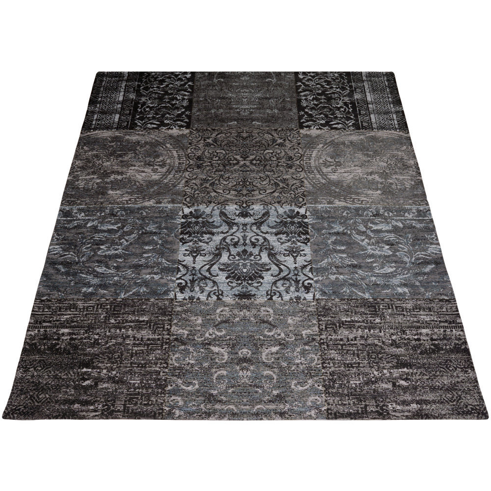 Karpet Lemon Antraciet - 70 x 140 cm