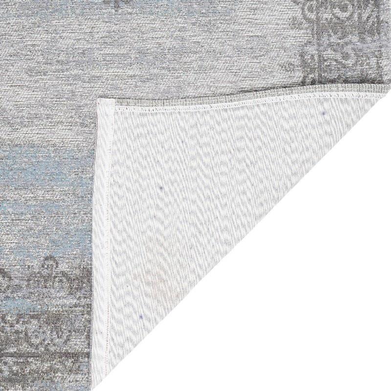 Loper Adel Medaillon Light Grey - 70 x 140 cm