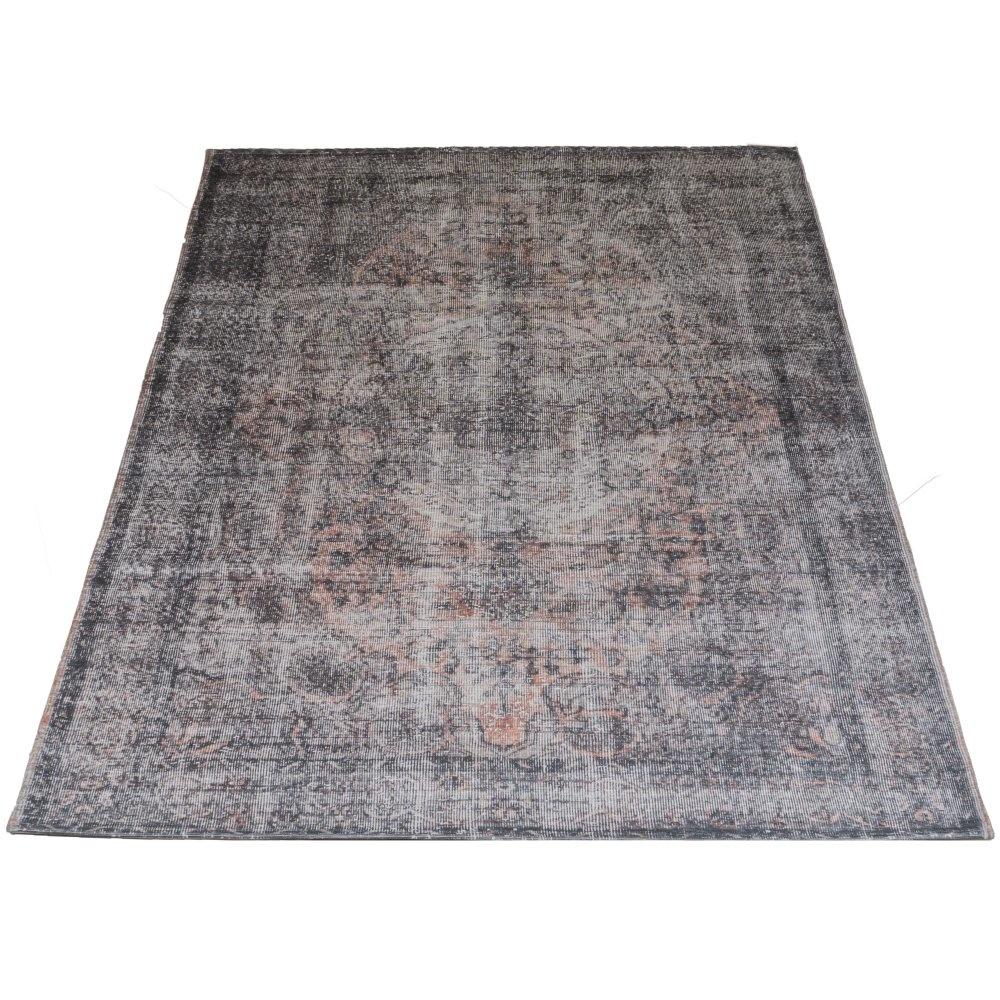 Vloerkleed Mila Antraciet/ Brown - 200 x 290 cm