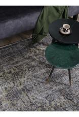 Vloerkleed Mila Antraciet/ Green - 160 x 230 cm