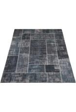Karpet Mijnen Grijs/Blauw - 160 x 230 cm