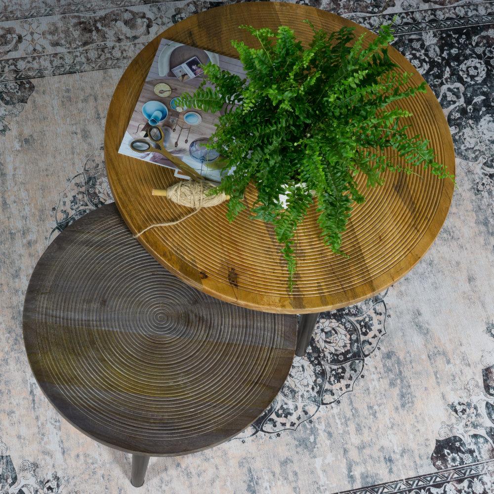 Vloerkleed Viola Antraciet - 160 x 230 cm