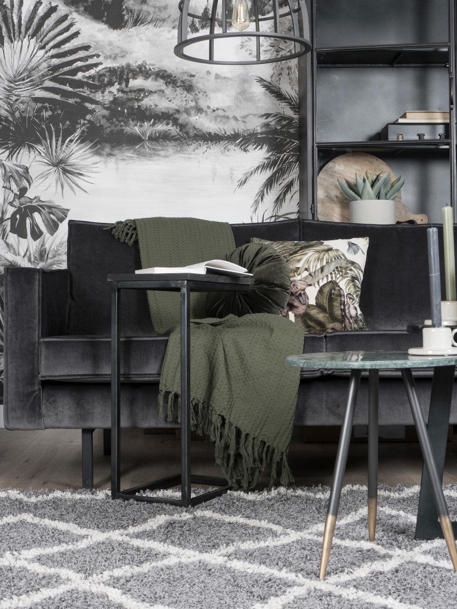 Vloerkleed Marrakesh Grey - 160 x 230 cm