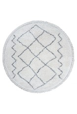 Vloerkleed Marrakesh Cream - Rond Ø 160 cm