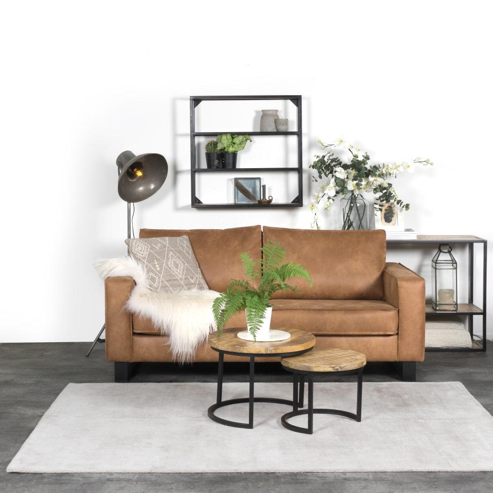 Karpet Viscose Light Grey - 160 x 230 cm