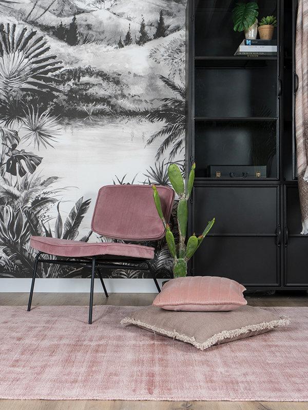 Karpet Viscose Pink - 200 x 280 cm