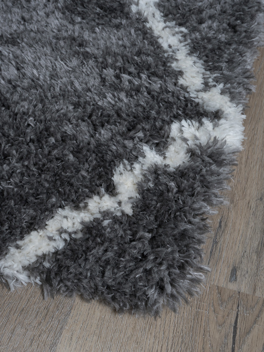 Loper Jeffie Grey - 80 x 150 cm