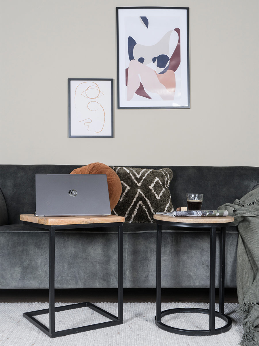 Laptoptafel Roos Zwart