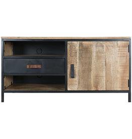 TV Dressoir Luuk Hout/ Metaal - 120 cm