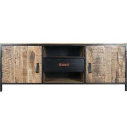 TV Dressoir Luuk Hout/ Metaal - 160 cm