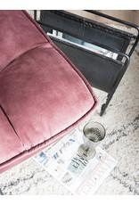 Fauteuil Dorus Adore Velvet - Old Pink