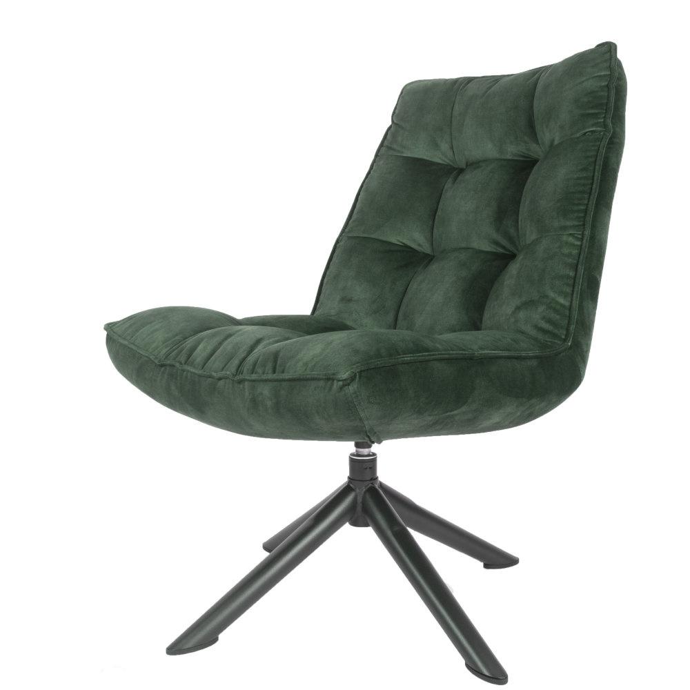 Fauteuil Dorus Adore Velvet - Army Green
