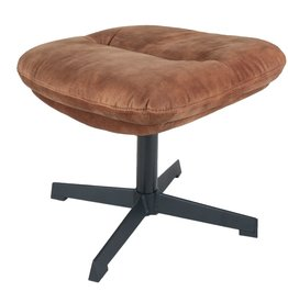 Hocker Dorus Adore Velvet - Brown