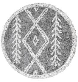 Vloerkleed Rabat Grey - Rond Ø 80 cm