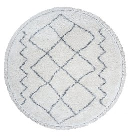 Vloerkleed Marrakesh Cream - Rond Ø 80 cm