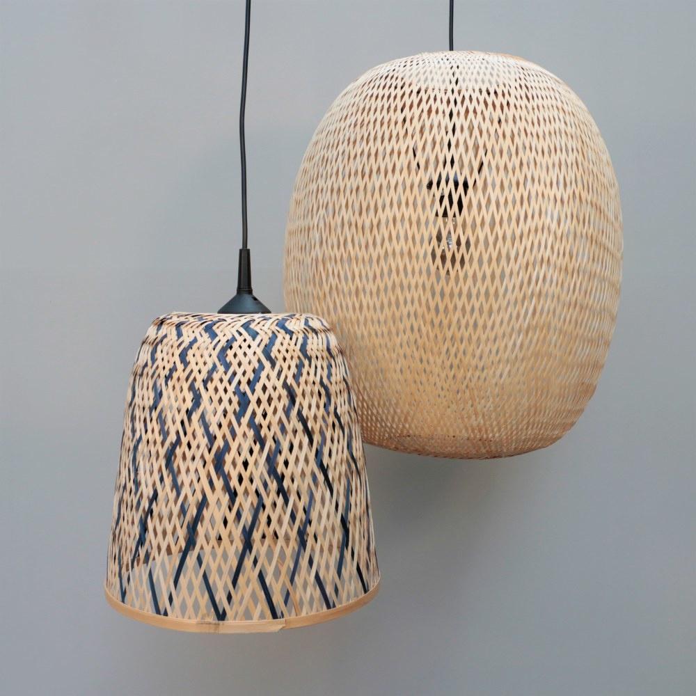 Bamboe lamp Lynn