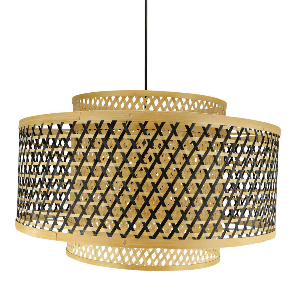 Bamboe lamp Sierra