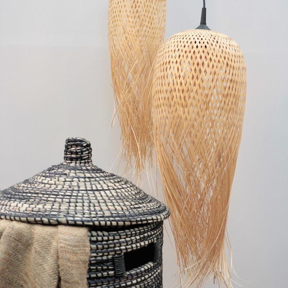 Bamboe lamp Buru S
